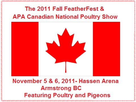 2011 Fall FeatherFest & Canadian National Poultry Show